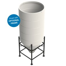 Enduramaxx 3650 Litre Cone Tank Open Top with 60° base