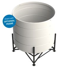 Enduratank 4200 Litre Cone Tank Open Top with 15° base