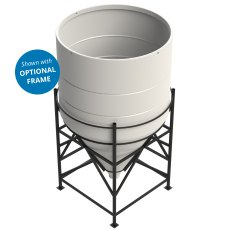 Enduramaxx 6000 Litre Cone Tank Open Top with 60° base