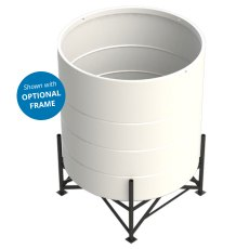 Enduramaxx 5200 Litre Cone Tank Open Top with 15° base
