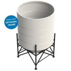 Enduramaxx 5900 Litre Cone Tank Open Top with 45° base