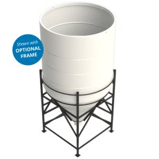 Enduratank 7000 Litre Cone Tank Open Top with 60° base