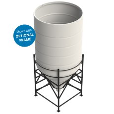 Enduramaxx 8000 Litre Cone Tank Open Top with 60° base