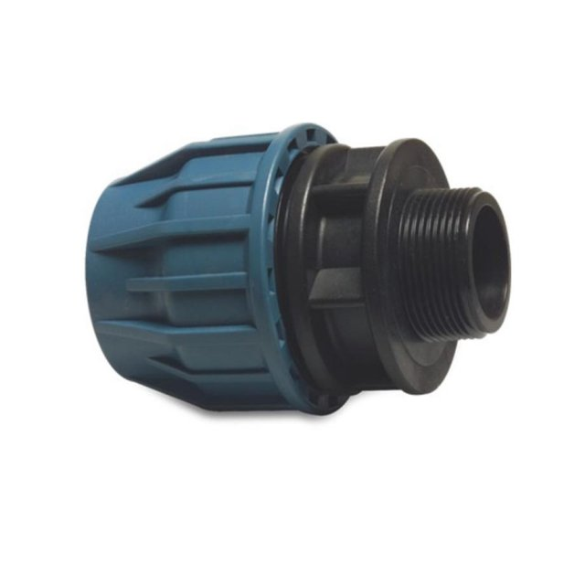 Enduramaxx 1' BSP to 32mm MDPE compression fitting