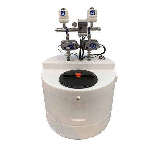 Direct Pumps & Tanks Aquamaxx 1200 Litre Cold Water Tank with a Variable Speed Twin Pump Booster Set