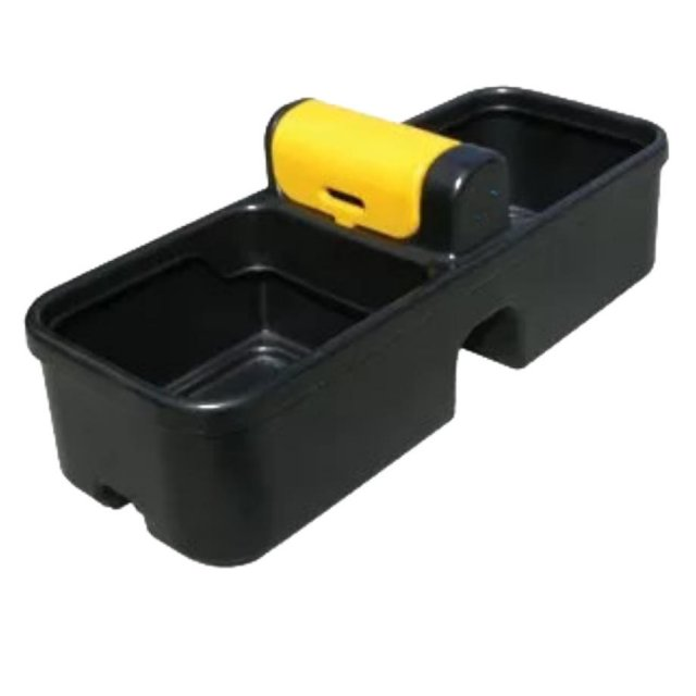 136 Litre Double Fast Fill Plastic Drinking Trough