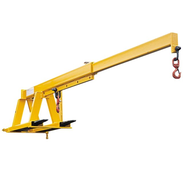 Safety Unlimited Fork Mounted Extending Crane Jib