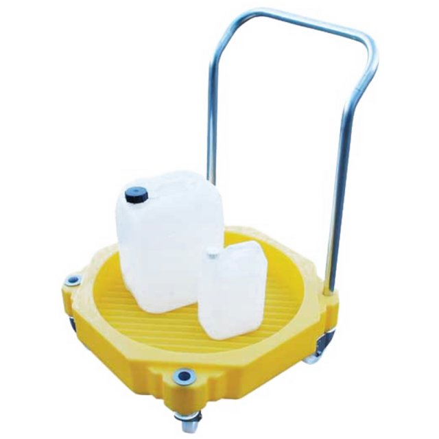 Empteezy 205 Litre Drum Dolly with Handle