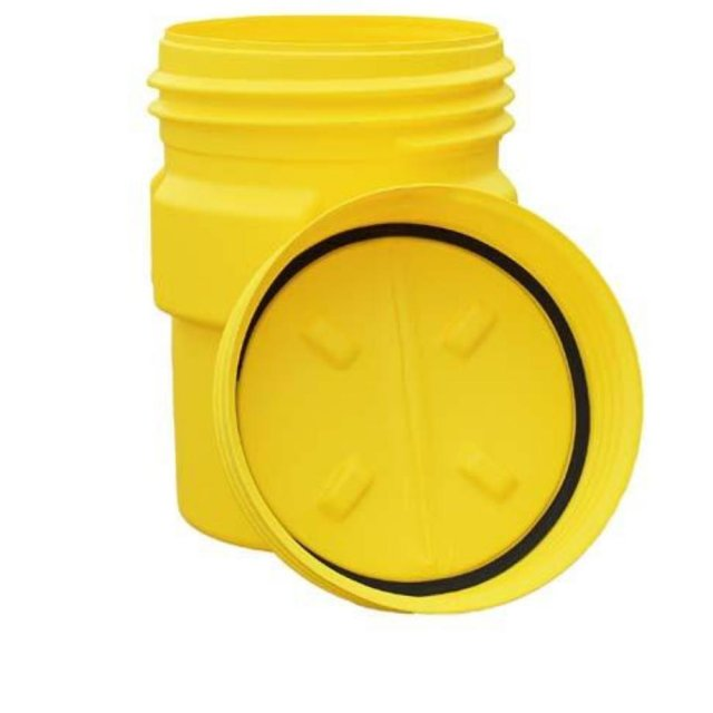 UN Approved Overpack, Screw on Lid - R1690