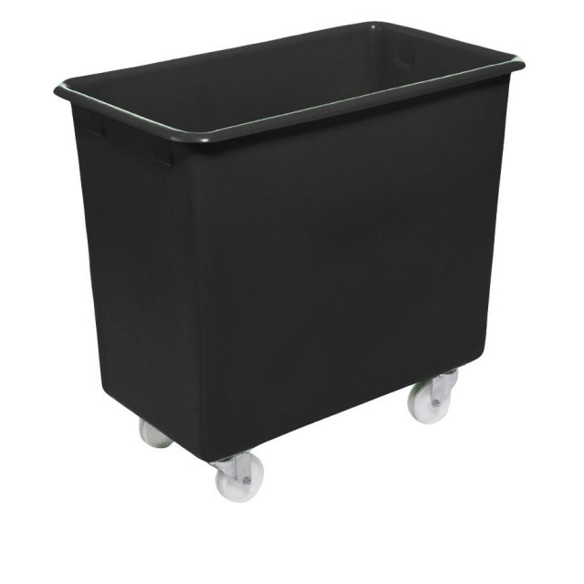 Excelsior 200 Litre Plastic Container / Trolley / Truck - Recycled Black