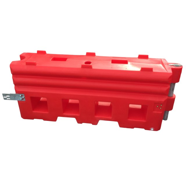 Oaklands Plastics Maximum Safety Crash Barrier, 2 Metre - Red