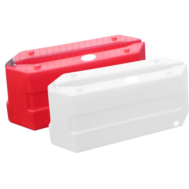 Oaklands Plastics Pack (2), Rota Blocks, Mini Fence Blocks, Red and White