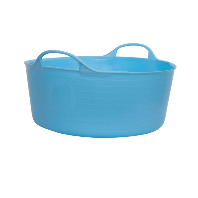 Red Gorilla 15 Litre Sky Blue TubTrug, Small Flexible Tub