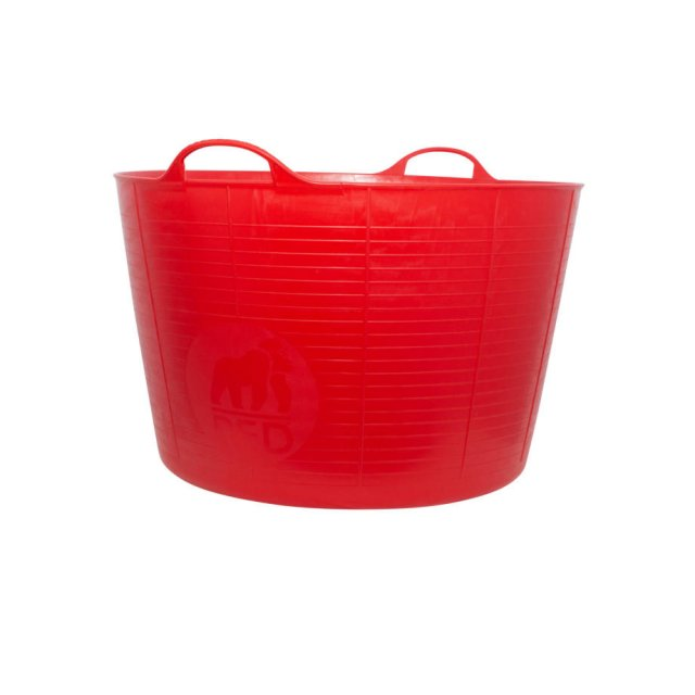 Red Gorilla 75 Litre Red TubTrug, Extra Large Flexible Tub