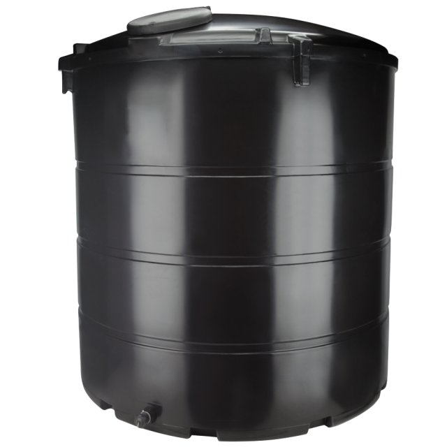 Deso 6000 Litre Round Water Tank, Non Potable